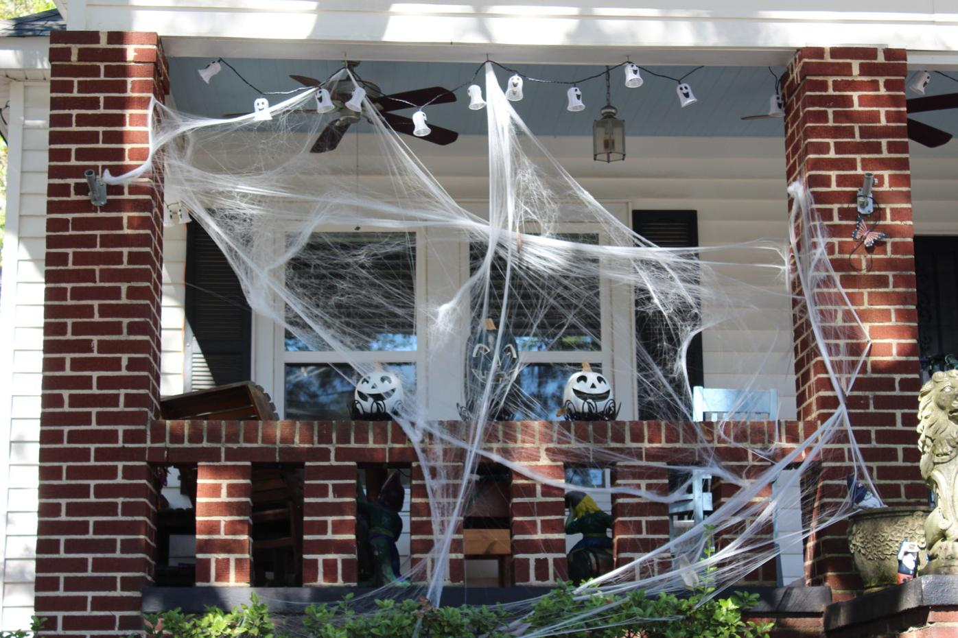 East Point Halloween porch