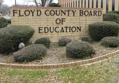 Floyd County Schools Board of Education FILE stock sign logo