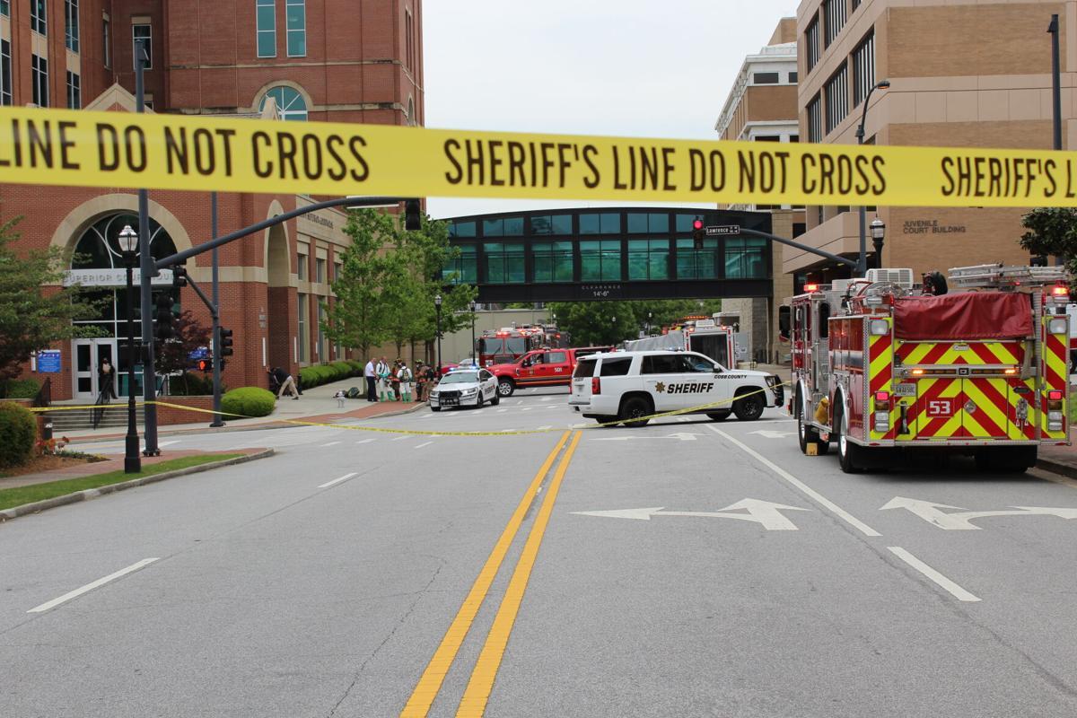 Superior Court Clerk evacuated