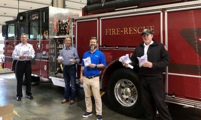 John Albers and first responders