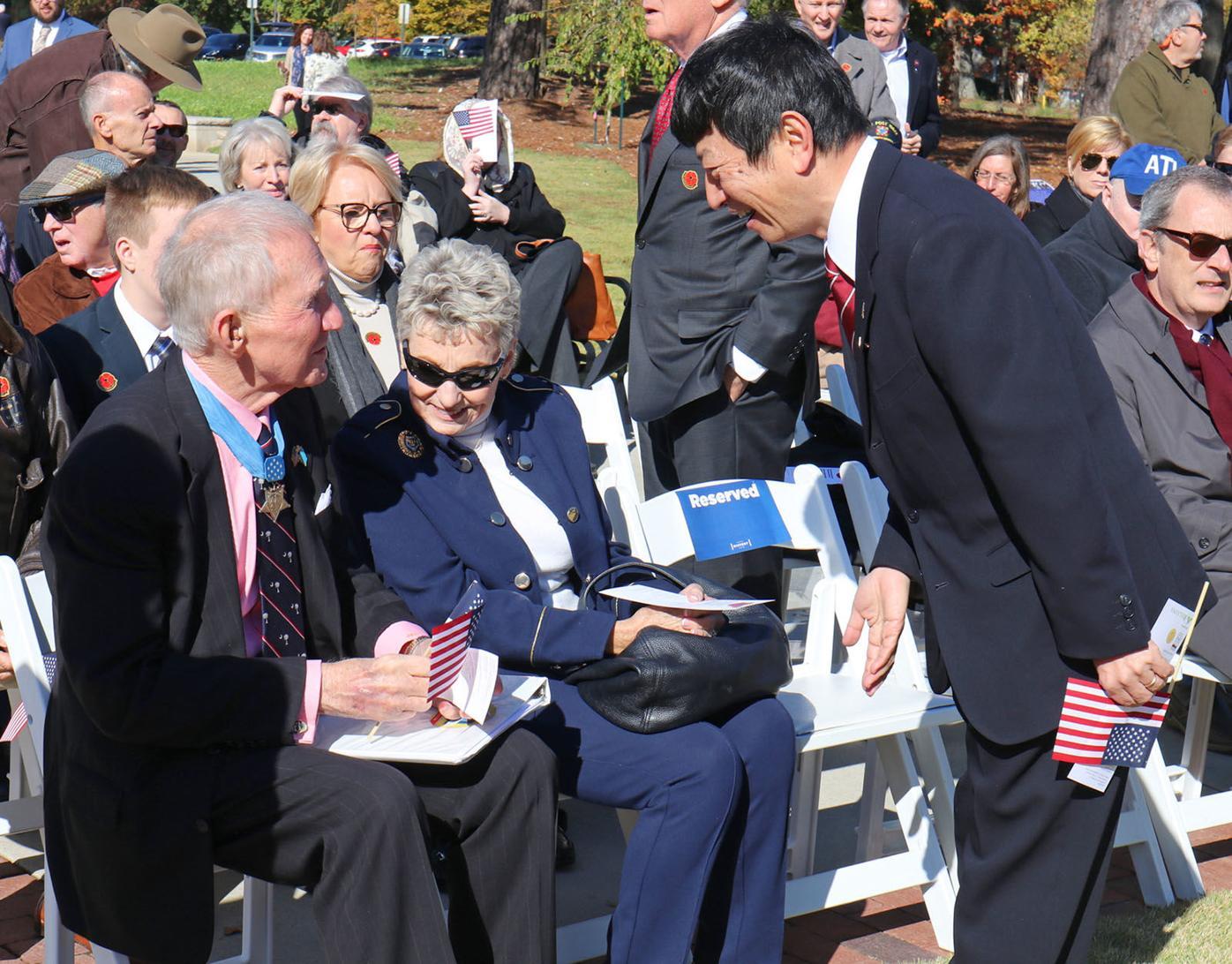 Full AHC Veterans Day 2 Takashi Shinozuka James E. Livingston Sarah Livingston