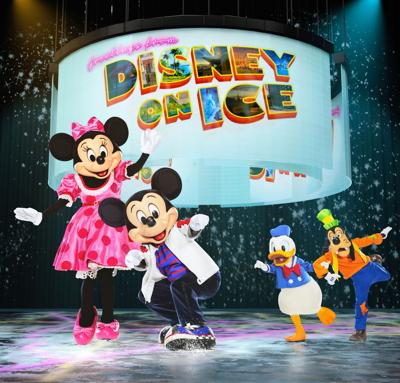 091819_MNS_Disney_Ice Minnie Mouse Mickey Mouse Donald Duck Goofy