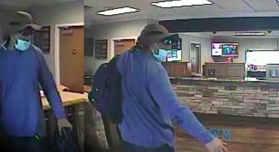 Acworth bank robbery suspect