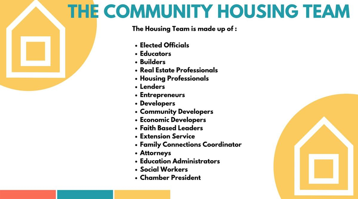 More about the housing team