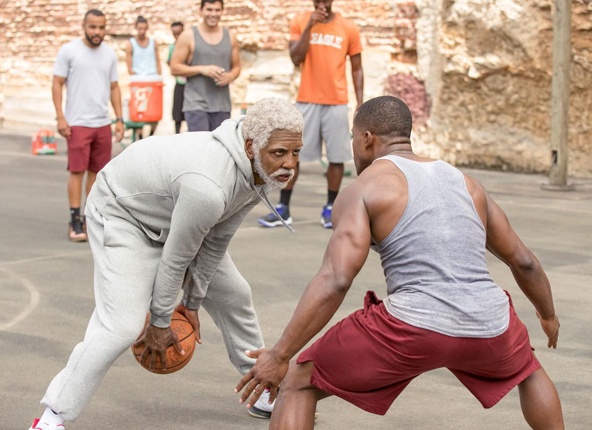 Uncle Drew Kyrie Irving with player