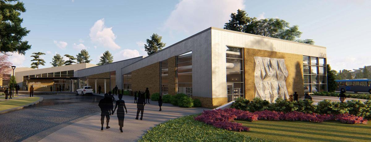 N. Cobb Regional Library rendering