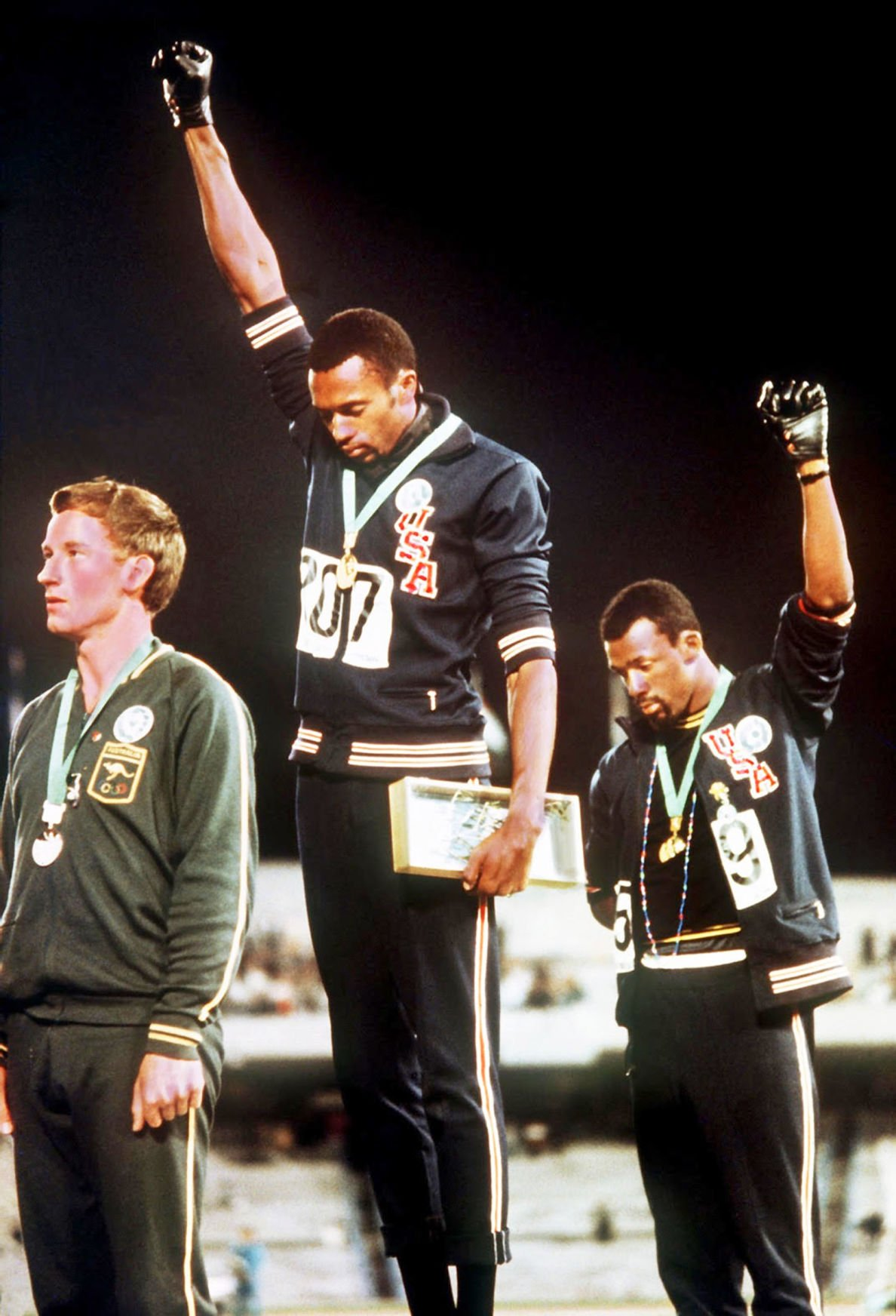 With Drawn Arms 1 Tommie Smith John Carlos Peter Norman