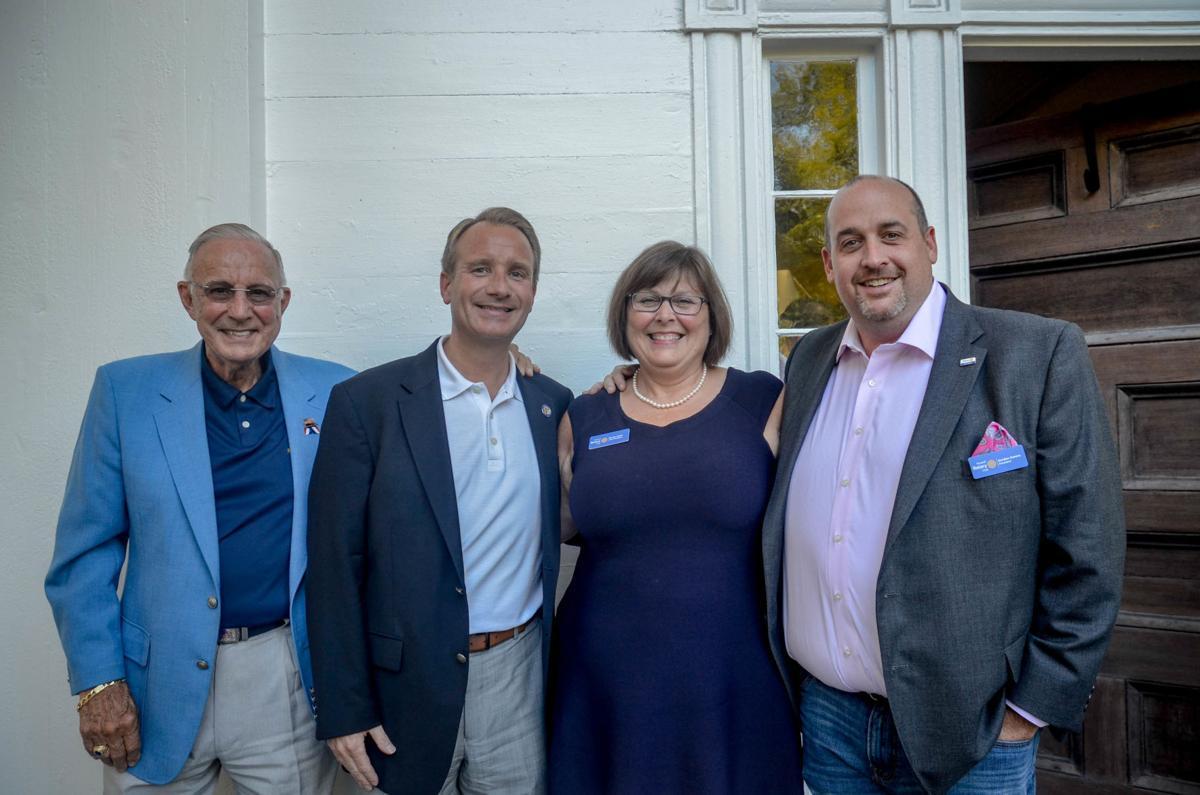 Senator John Albers and friends