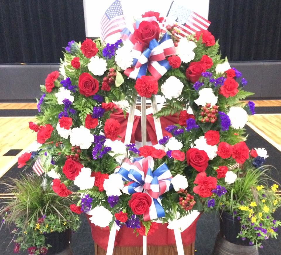 Hapeville Memorial Day wreath