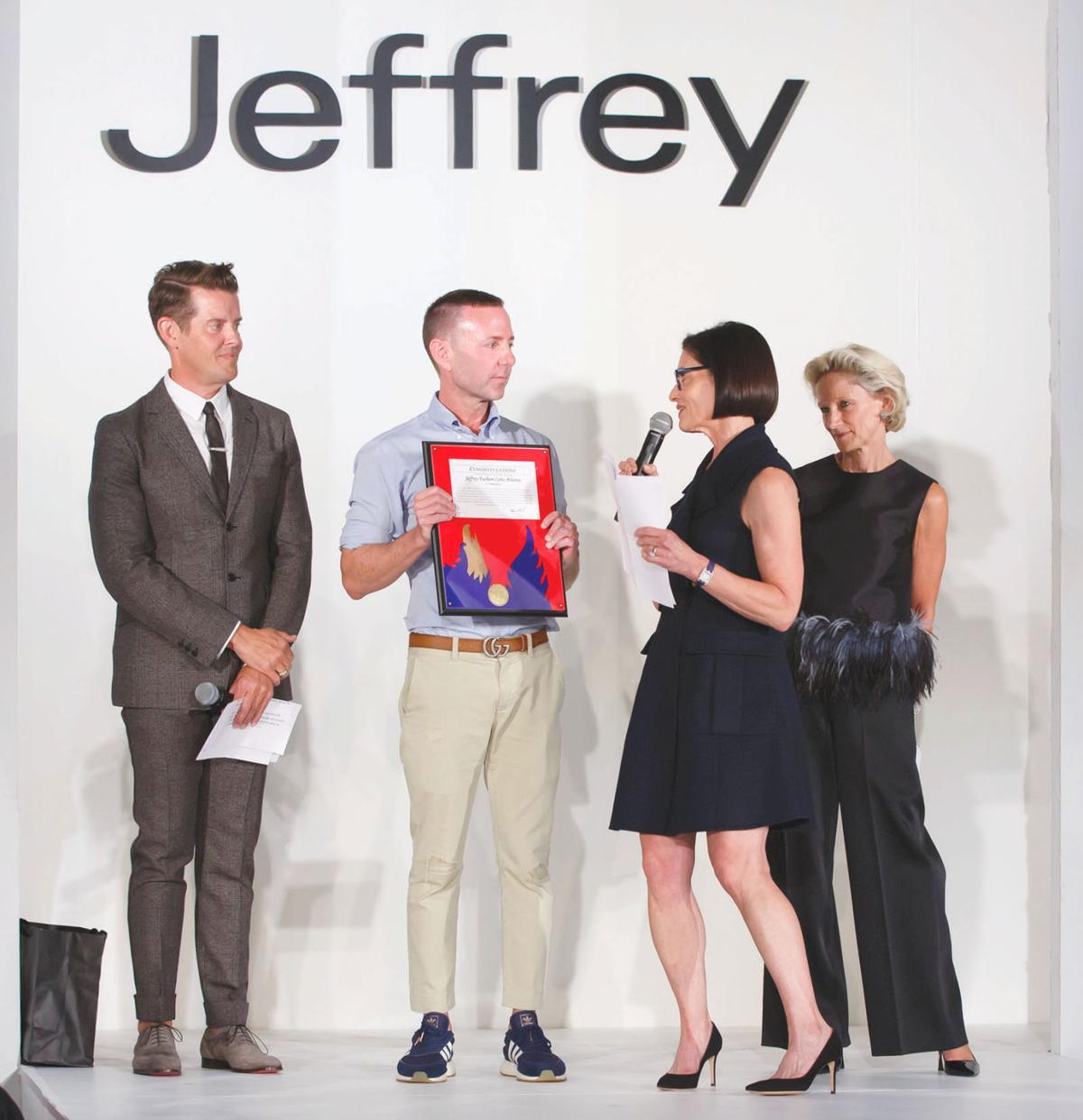 Full Jeffrey Fashion Cares 1 Jeffrey Kalinsky Jeffrey McQuithy Lila Hertz Louise Sams