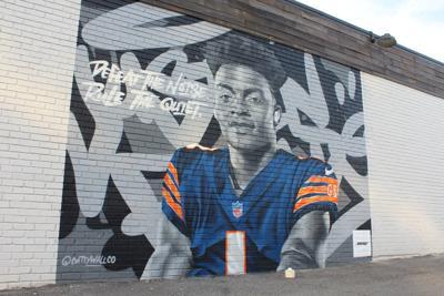 Justin Fields mural