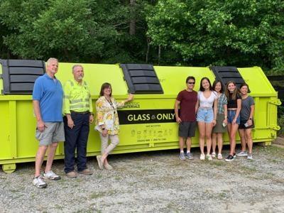 Milton Glass Recycling