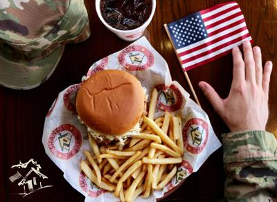 Shanes Veterans Day food