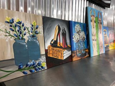 Painting with a Twist Art Sale