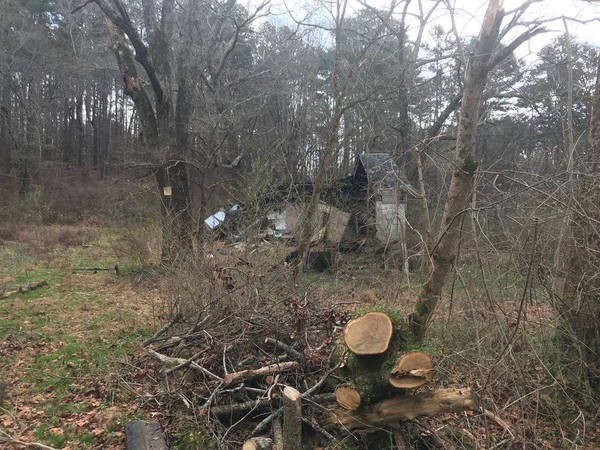 Derelict property in Walker County