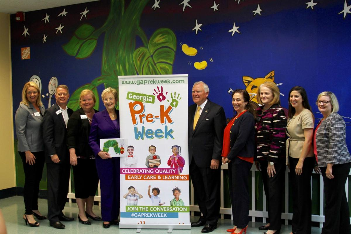 Governor And First Lady Deal Visit Child Development Association In