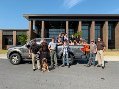 Welding students team up with PCSO for K-9 transport cage
