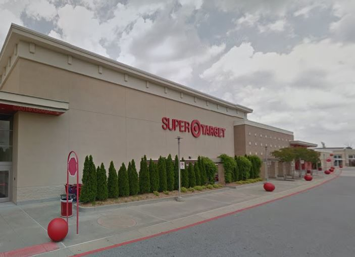 The Store Front Of East Roswell Target