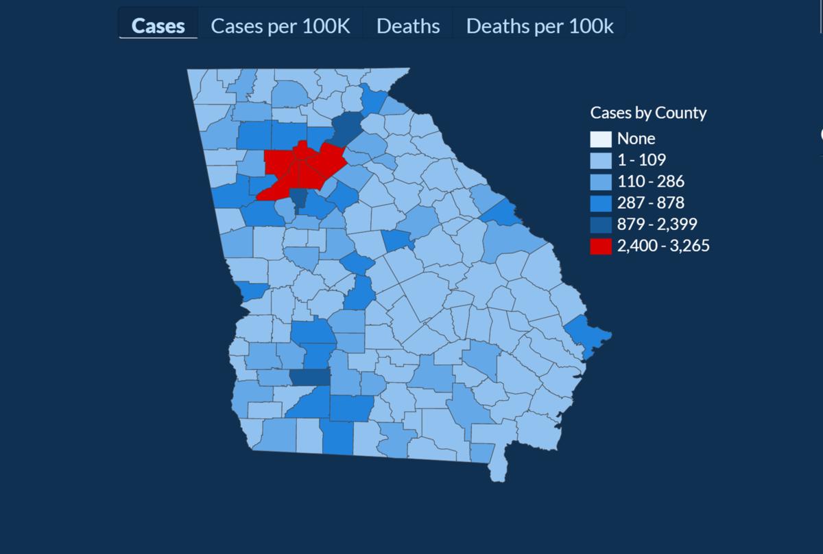 State: Cobb has had 2,696 coronavirus cases, including 142 ...