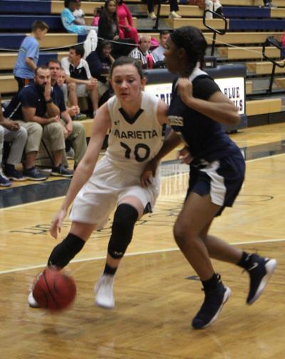 Marietta basketball Lauren Walker