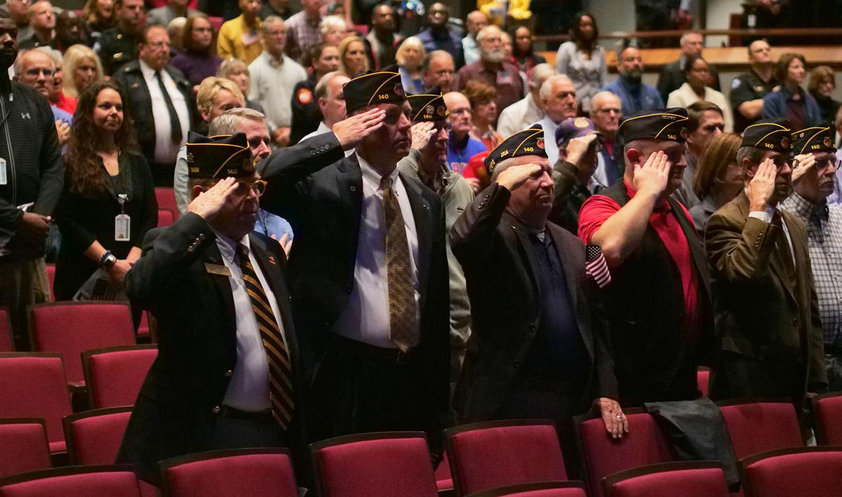 Full Sandy Veterans Day 2 John McDonough John Paulson, other veterans salute