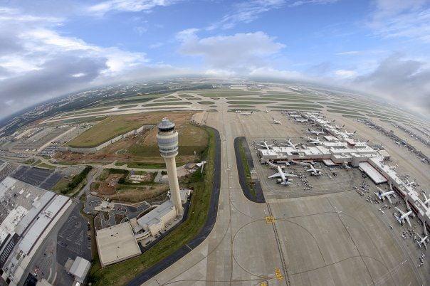 Hartsfield-Jackson aerial view
