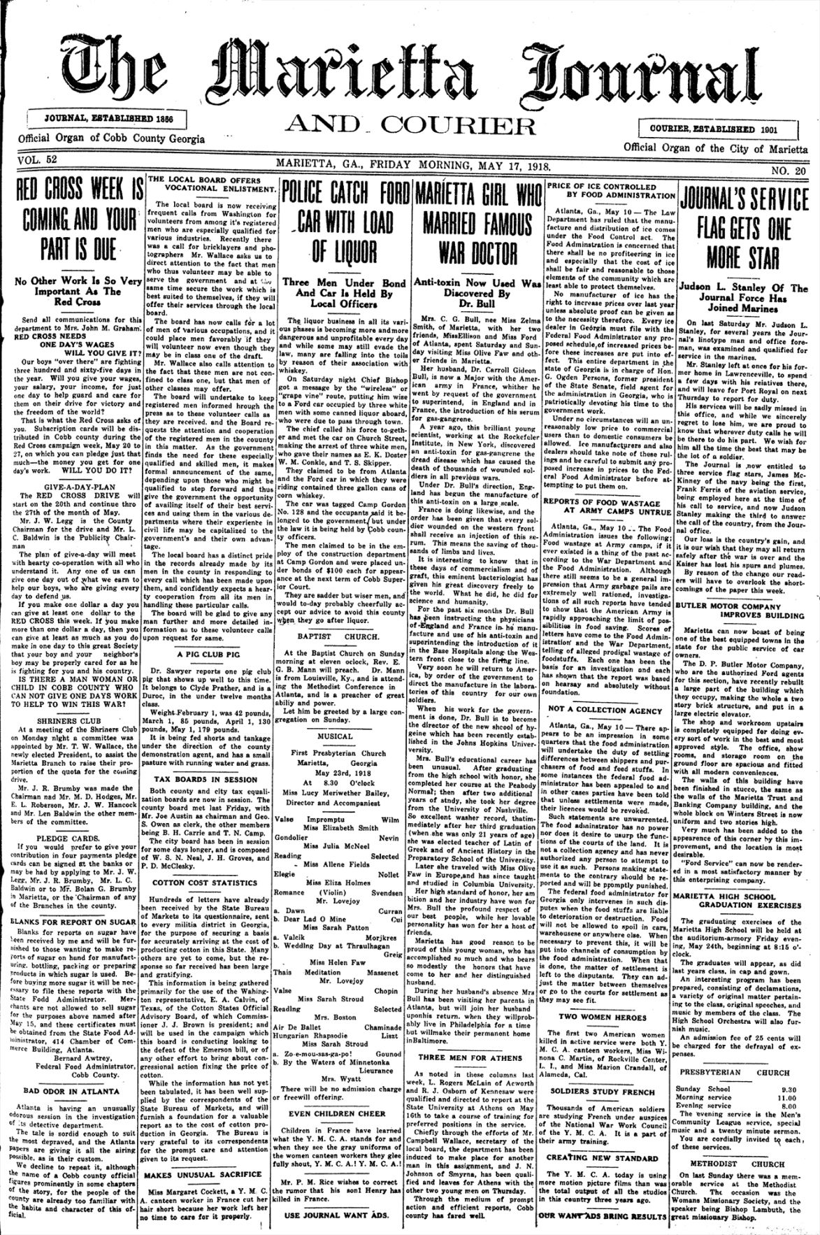 1-May 17, 1918 Page A1 Front - Time Capsule.jpg