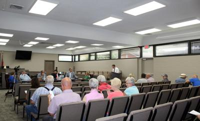Full house at Aug. 8 commissioner's meeting in Walker County