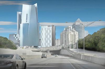3354 and 3356 Peachtree rendering