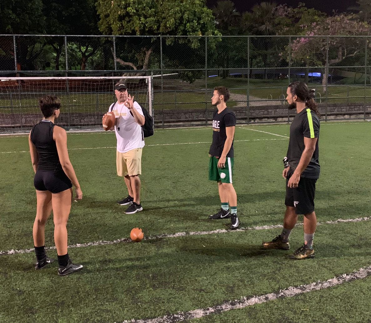 Parson goes to Brazil for FCA Camp