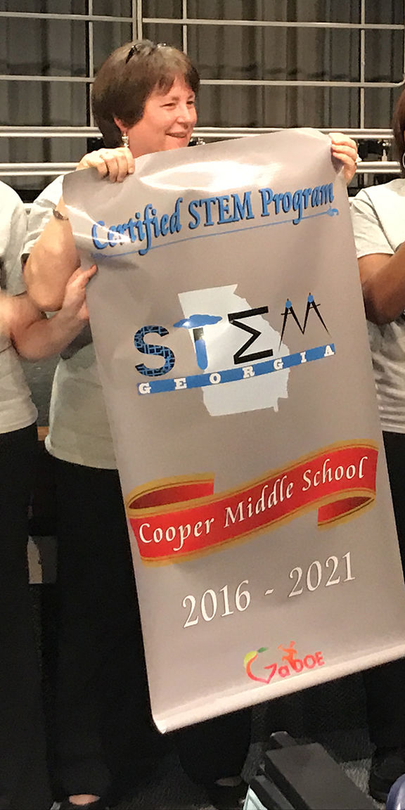 Cooper Middle School Recognized For State Stem Certification News