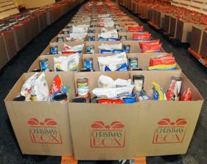 Voluntary Action Center Christmas Boxes