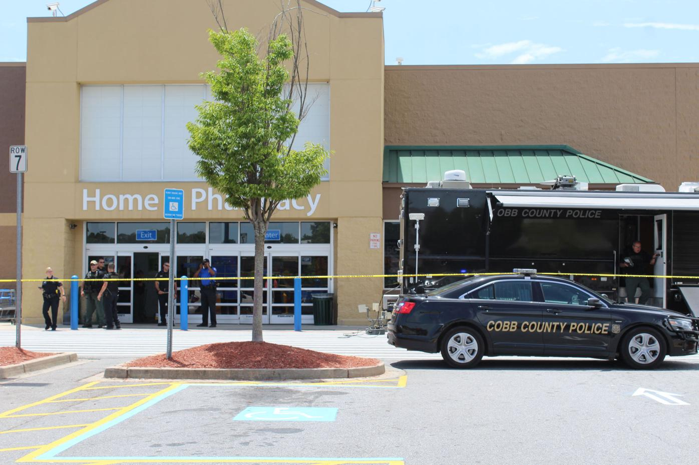 Wal-Mart Suspicious Package