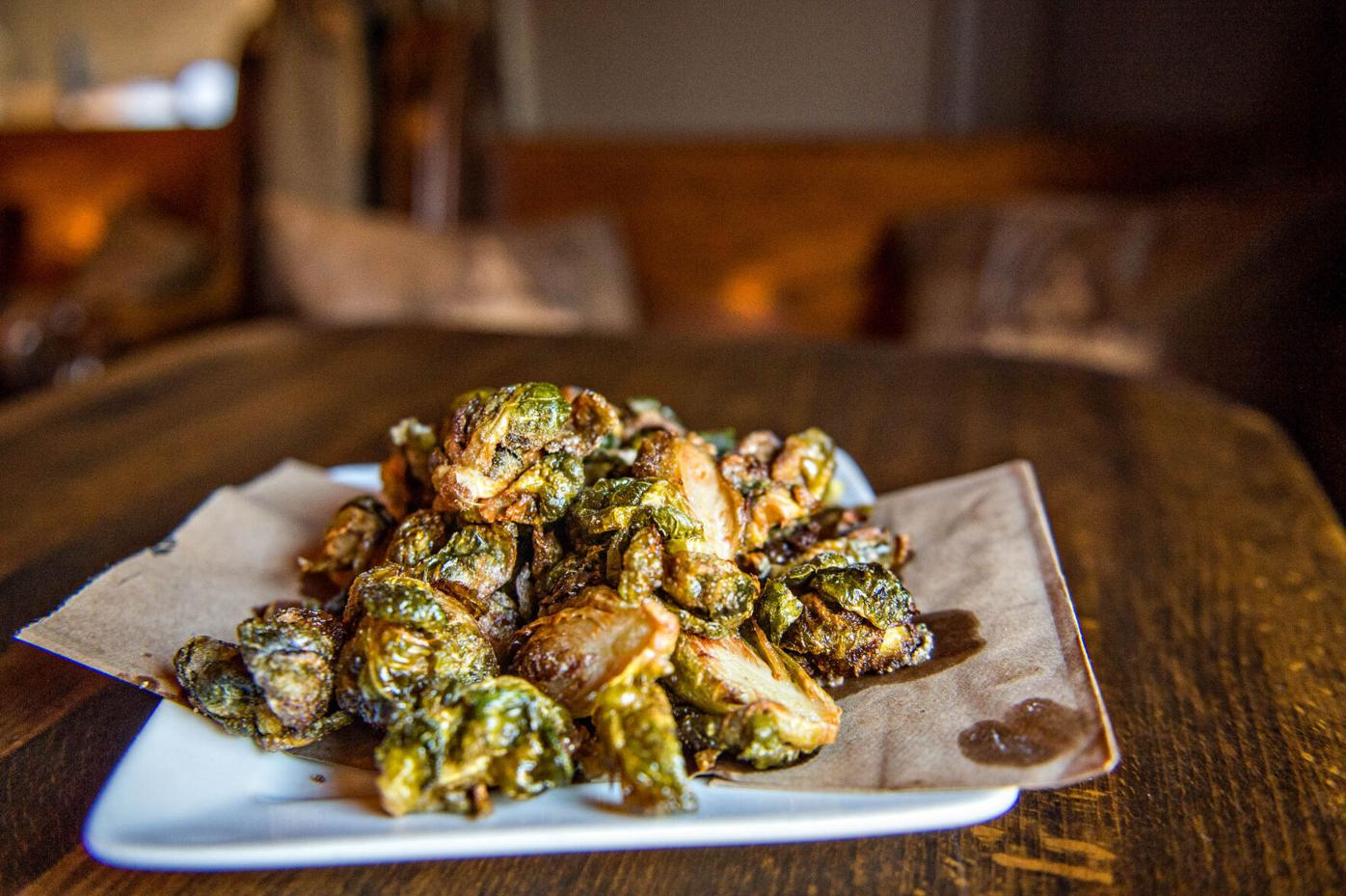 Branch and Barrel Brussel Sprouts
