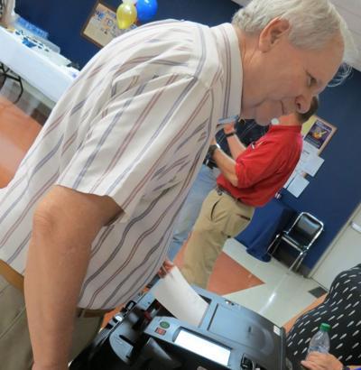 Catoosa voter testing new machines