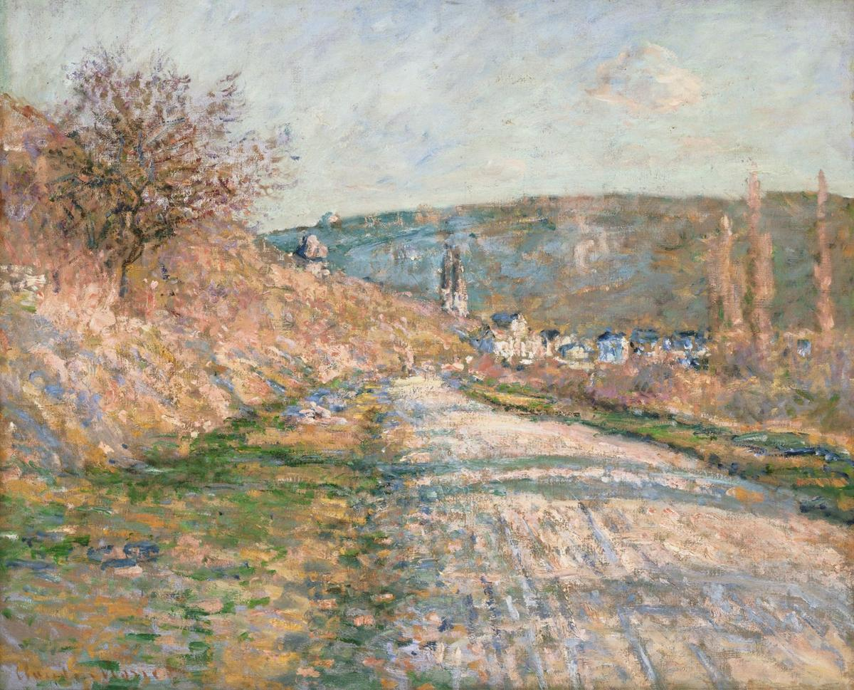 040319_Phillips_Collection_002 Claude Monet's The Road to Vetheuil