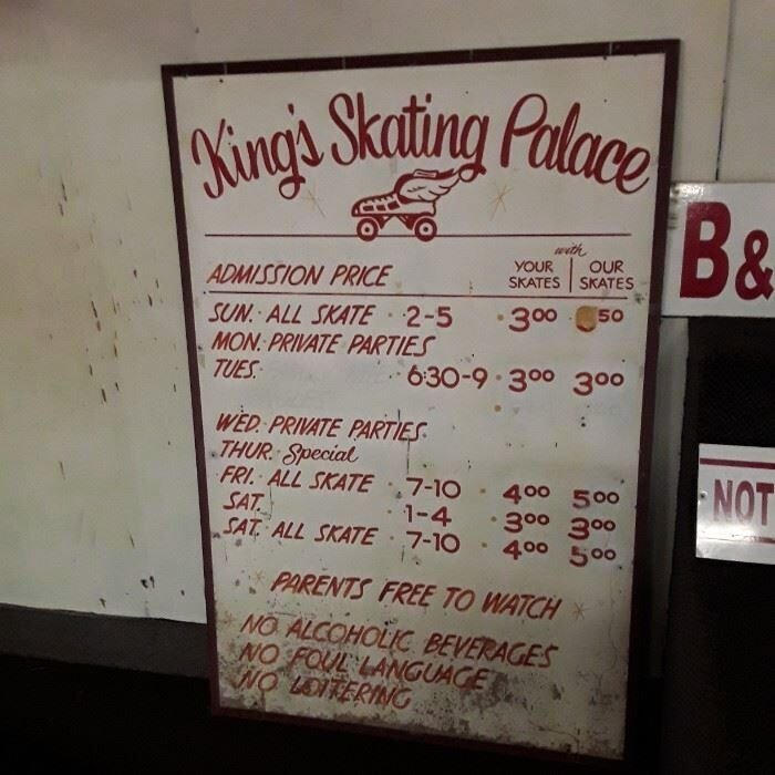 Contents of Skating Palace to be liquidated in tag sale