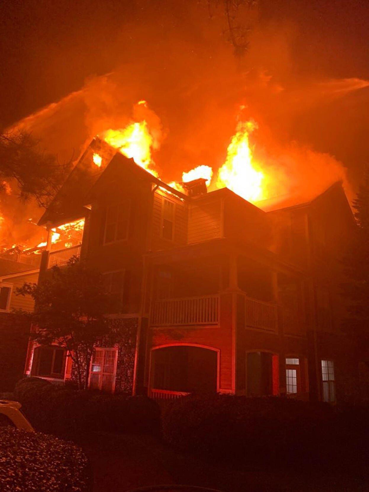 Deer Trail Apartment Fire