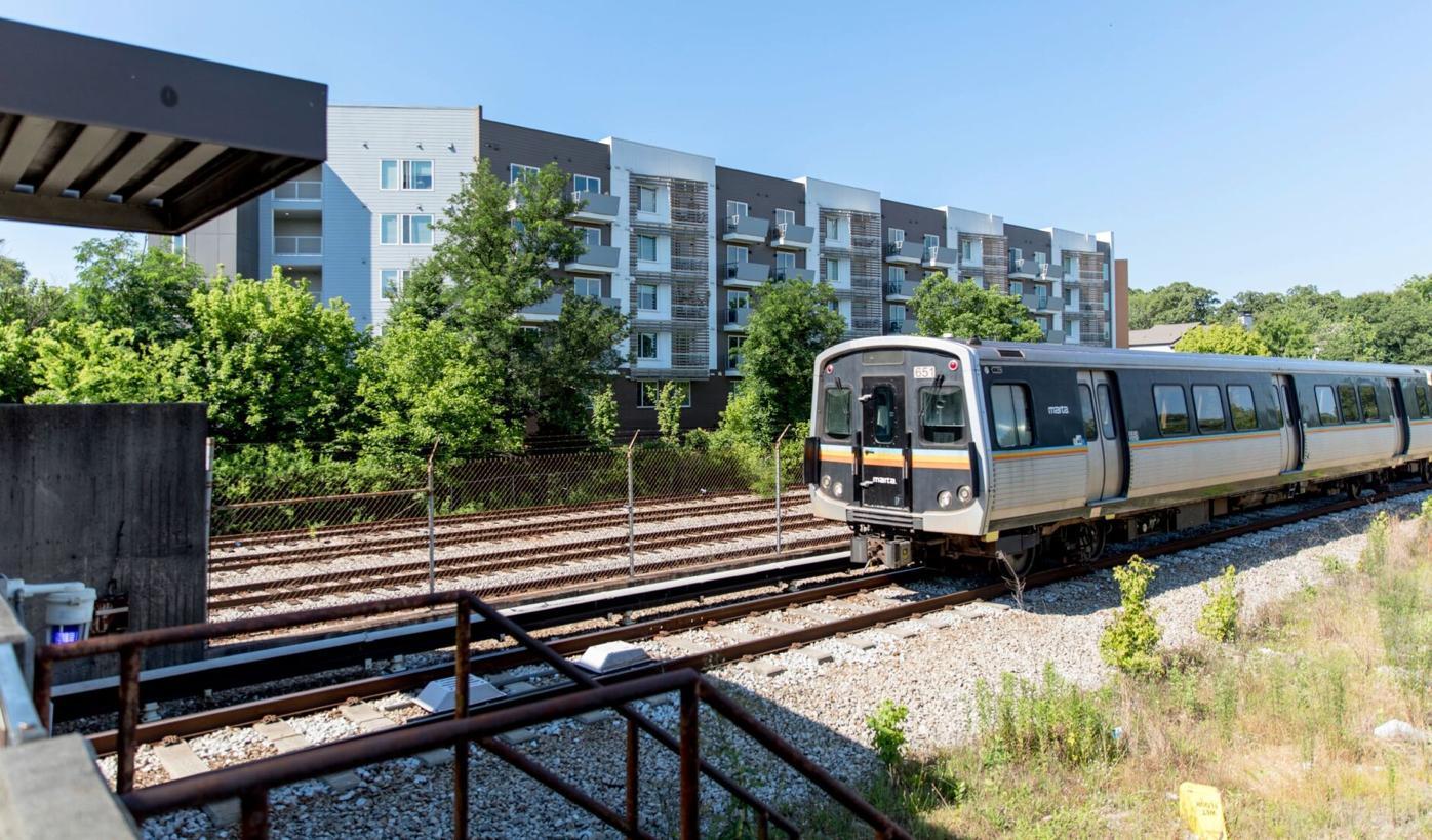 012721_MNS_housing_panel_002 Edgewood/Candler Park MARTA station apartment building