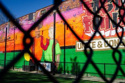 East Point Atlanta United Mural
