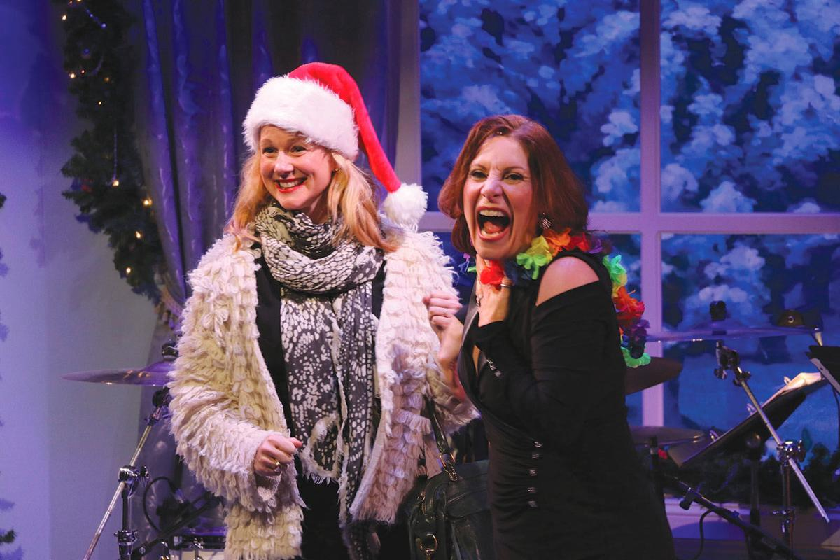 NS 12.21 Courtenay's Cabaret 3 Laura Linney Courtenay Collins