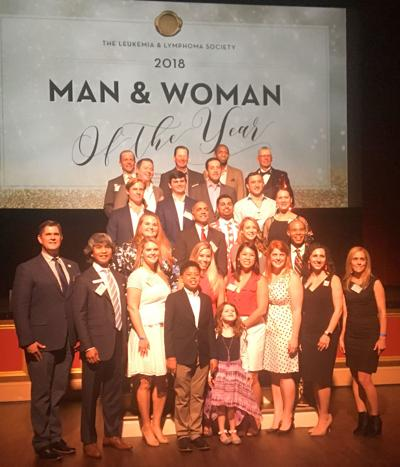 Man & Woman of Year group