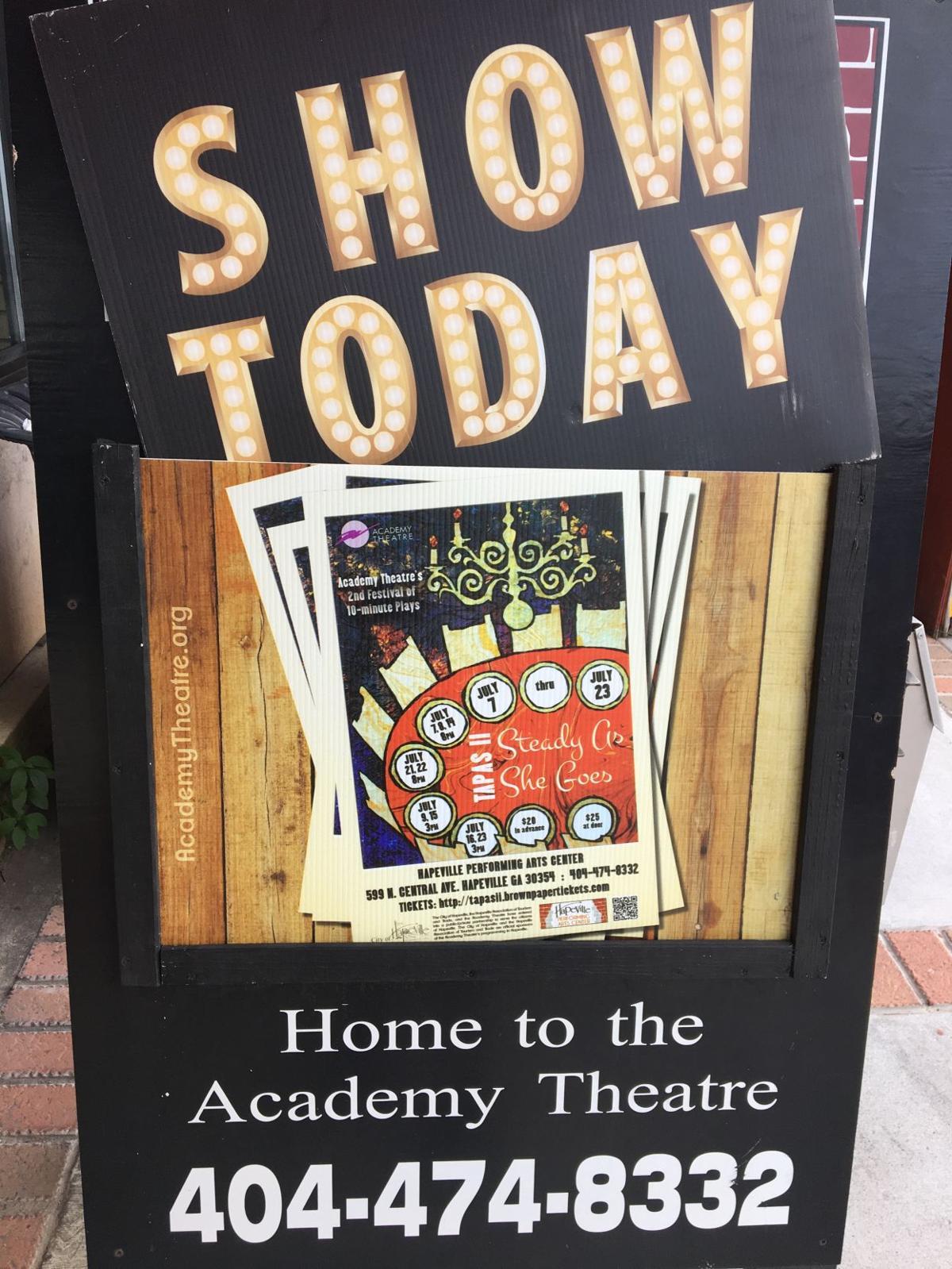 Hapeville's Academy Theatre presents short plays   Community