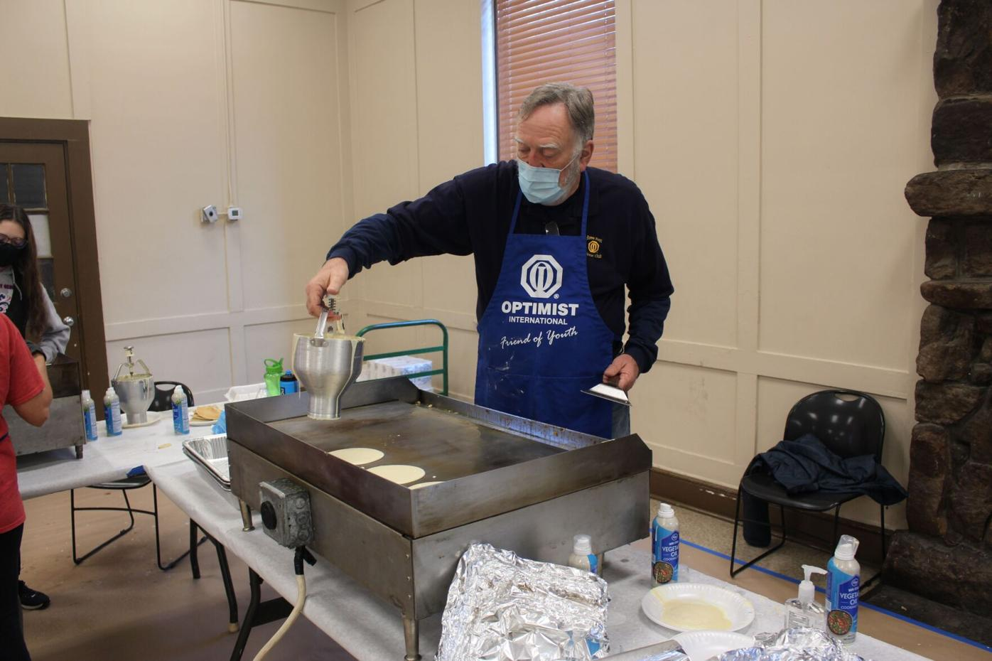 Optimist Club sees good turnout for drive-thru only pancake breakfast