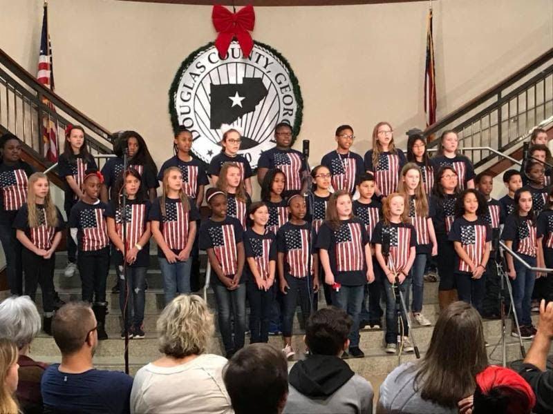 School Choruses Performing In Annual Douglas Christmas Concert Series Community Mdjonline Com