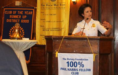 Rotary Shields Erika Shields