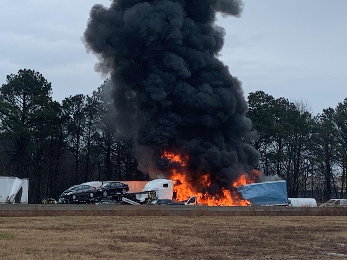 I-75 fire/wreck