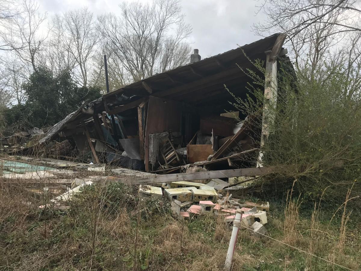 Derelict properties in Walker County