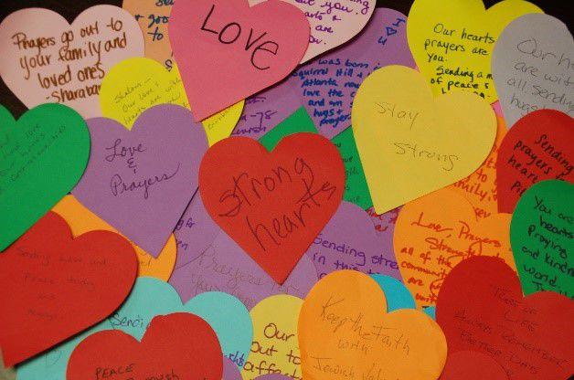 Davis Sending Love to Pittsburgh 1 hearts