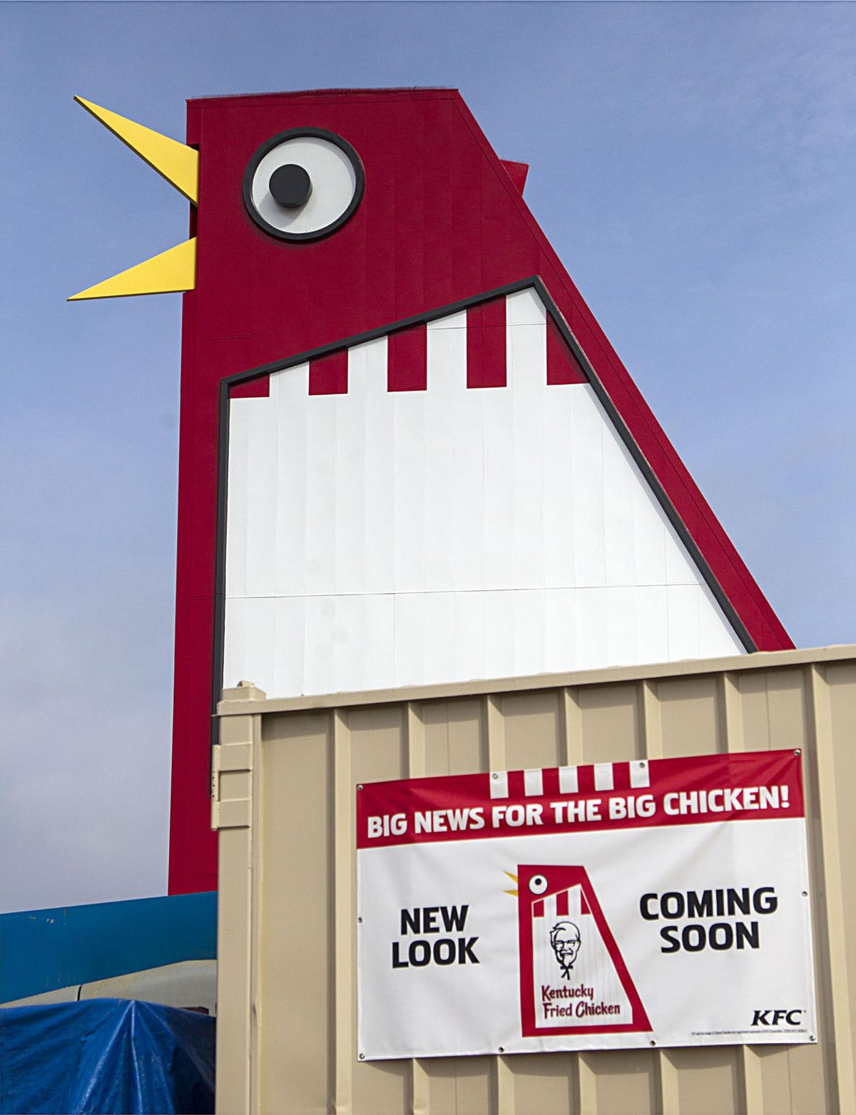 marietta s unique big chicken getting ready to reopen news